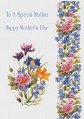 Mother's Day Card-Floral Cascade Card